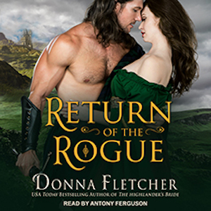 Return of the Rogue audiobook by Donna Fletcher