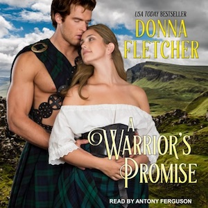 A Warrior's Promise audiobook by Donna Fletcher